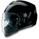 Outlaw Black N43ET Trilogy N-Com Helmet