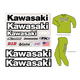 Kawasaki Factory Rider Gear Kit - FX08-82110