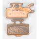 Standard Sintered Metal Brake Pads - DP328