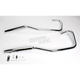 Staggered Dual Tapered Tips Exhaust System - 001-4021