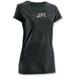 Womens Flare Black T-Shirt