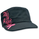Womens Highway Honeys Studded Pink Ribbon Cap - CPHH09