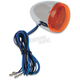 LED Amber Bullet Turn Signals - 8501A-LED