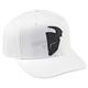 Slider Curved Bill White/Black Hat