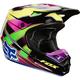 Yellow/Blue V1 Race Helmet