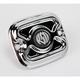 Chrome Cafe Front Brake Master Cylinder Cover - 0208-2037-CH