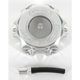 Silver Anodized Gas Cap - 777