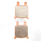 Sintered Metal Brake Pads for Custom Calipers - 1721-1353