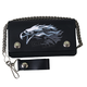 Leather Bi-Fold Tribal Eagle 6 in. Wallet - WLB2010