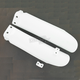 White Lower Fork Cover Set for Inverted Forks - 2253090002