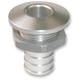 Polished Straight Billet Bilge Fitting for 500 GPH Bilge Pump Systems - 5050