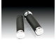 Chrome Scalloped Soft-Touch Grips - 07-082