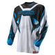 Youth White/Blue Element Racewear Jersey