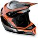Orange F4 Helmet