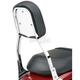 Plain Steel Backrest Insert for Cobra Square Tall Backrests - 02-5050
