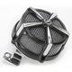Black/Chrome Hi-Five Mach 2 Air Cleaner Kit - 9533