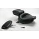 Studded Wide Touring Seat with Driver Backrest - 79237