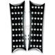 Black Rectangular Billet Floorboards - 06-830
