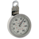 Night Advantage Thermometer - White Face w/Polished Stainless Steel Case - ELA-20710