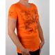 Womens Flur De Lis T-Shirt - Rhinestone