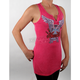 Womens Cross With Wings Tunic Tank