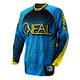 Blue/Yellow Hardwear Mixxer Jersey