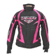 Womens Black/Fuchsia Team Jacket