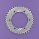 Aluminum Silver Rear Sprocket - 436-40