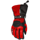 Womens Red/Black Cascade Gloves