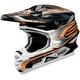 Black/Orange VFX-W Malice Helmet