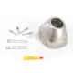 Replacement Stainless Steel Rear Cone Cap for Factory 4.1 RCT Exhaust - 040641