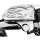 Chrome Flame Front Master Cylinder Covers - BA-762-903