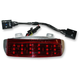 Low Profile Tri-Bar Dual Intensity LED Fender Tip w/Red Lens - RIV-TRI-1-RED