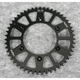 Black Anodized Rear Works Triplestar Aluminum Sprocket - 5-355951BK