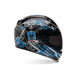 Blue Vortex Siege Helmet - Convertible To Snow