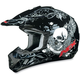 Black FX-17Y Skull Youth Helmet