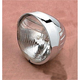 6 1/2 in. Springer-Style Headlight w/ Visor and Grooves - DS-280033