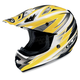 AC-X3 Option Helmet /Adult/Yellow/Silver/White/Yellow/Female/Male
