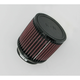 Universal Round/Straight Clamp-On Air Filter - 4 1/2 in. Diameter x 4 in. Long - RB-0900