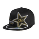 Black Golden Rockstar 210 Fitted Hat