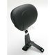 Adjustable Smooth Driver Backrest w/Chrome Studs - 79070