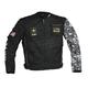 Black/Gray Camo U.S. Army Alpha Jacket