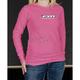 Womens Pink Ribbon Long Sleeve T-Shirt