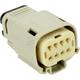 Gray Molex MX 150 8-Pin Female Connector - NM-33472-0802