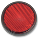 Adhesive Back Red Reflector - RR2R