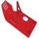 Red Skid Plate - 320-HXR-5041