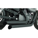 Black Ceramic Declaration Turn-Out Exhaust System - HD00251