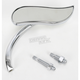 Right Chrome Upswept Mirror - 13-409