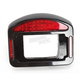 Black Eliminator LED Taillight/License Plate Frames - CV4835B