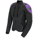 Womens Black/Purple Atomic 4.0 Jacket